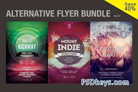 Alternative Flyer Bundle Vol.01 51324
