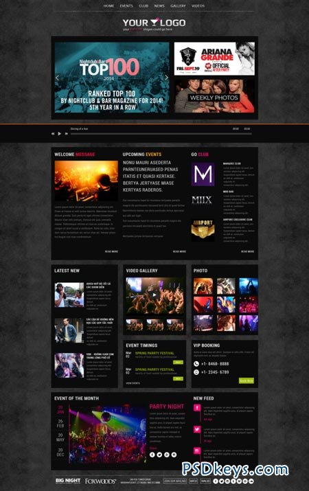 Nightlife - Night Club Template 89815