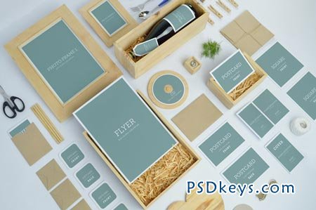 Wedding Branding Mock-Ups 89573