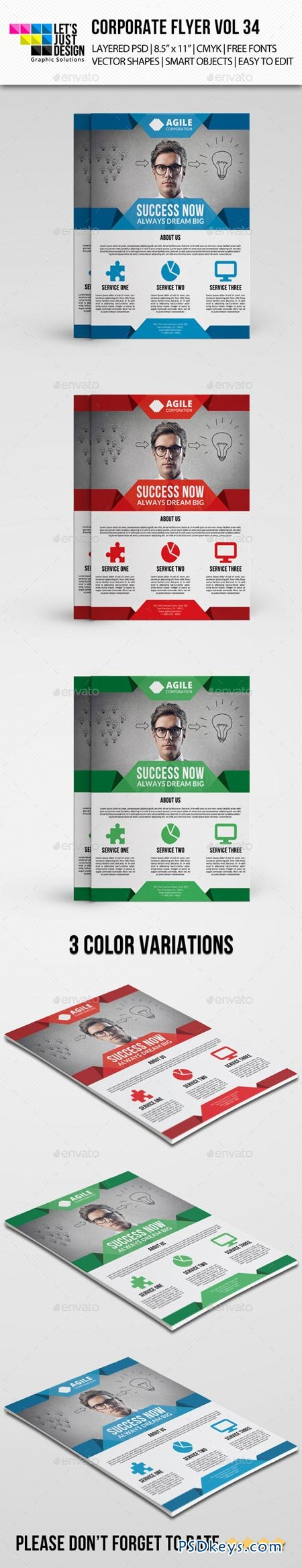 corporate flyer template vol photoshop corporate flyer template vol 34 9070437