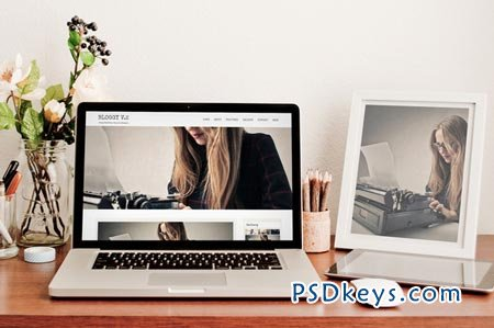Bloggy v.2 - Blog WordPress Theme 59055