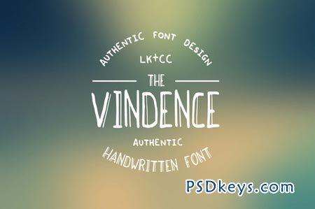 Vindence Handwritten Font 66059