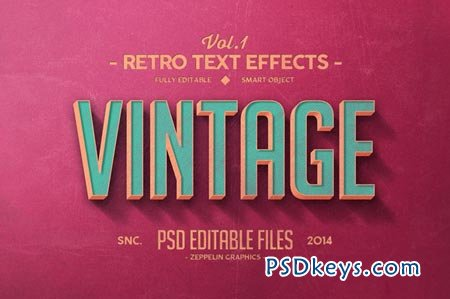 Vintage Text Effects Vol.1 57961