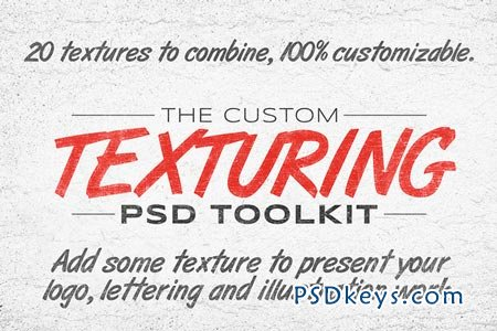 The Custom Texturing PSD Toolkit