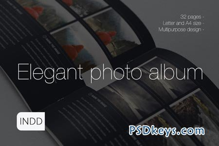 Elegant Photo Album A4 + Letter 90123