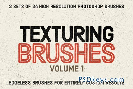 Texturing Brushes Set Volume 1 88097
