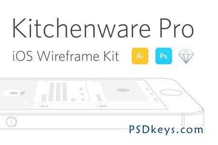 kitchenware pro ios wireframe kit 18755 free download. Black Bedroom Furniture Sets. Home Design Ideas