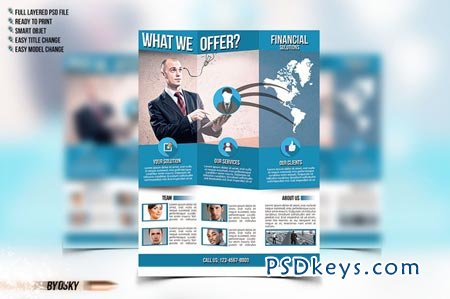 Business Flyer Template 93572 Free Download Photoshop Vector Stock