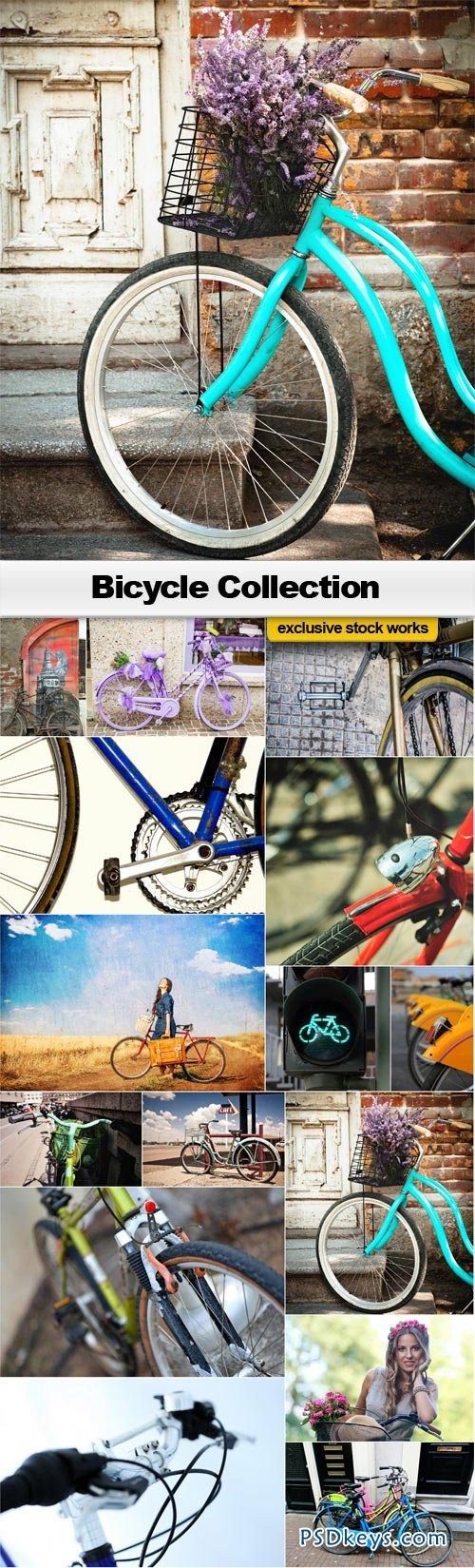 Bicycle Collection - 15xJPEGs