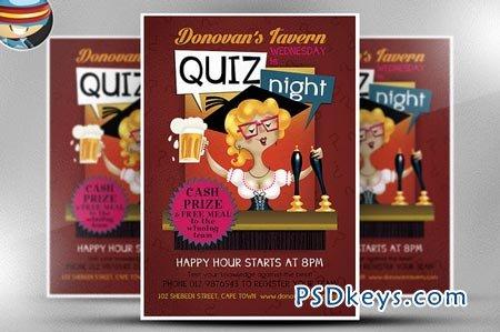 Pub Quiz Flyer Template 68346 Free Download Photoshop Vector – Free Quiz Template