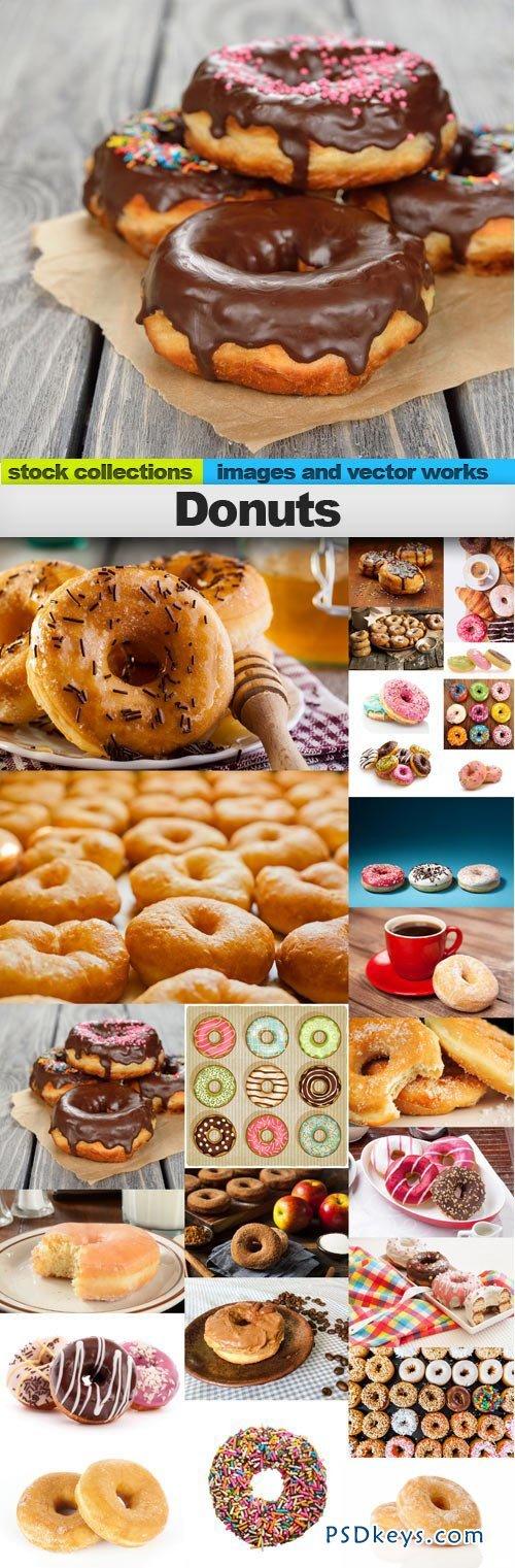 Donuts 25xUHQ JPEG