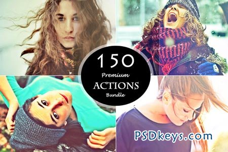 (50%off) 150 Actions Bundle 58575