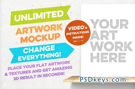 Unlimited Artwork Mockup 56861