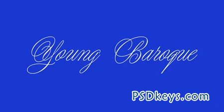 Young Baroque Font for $40