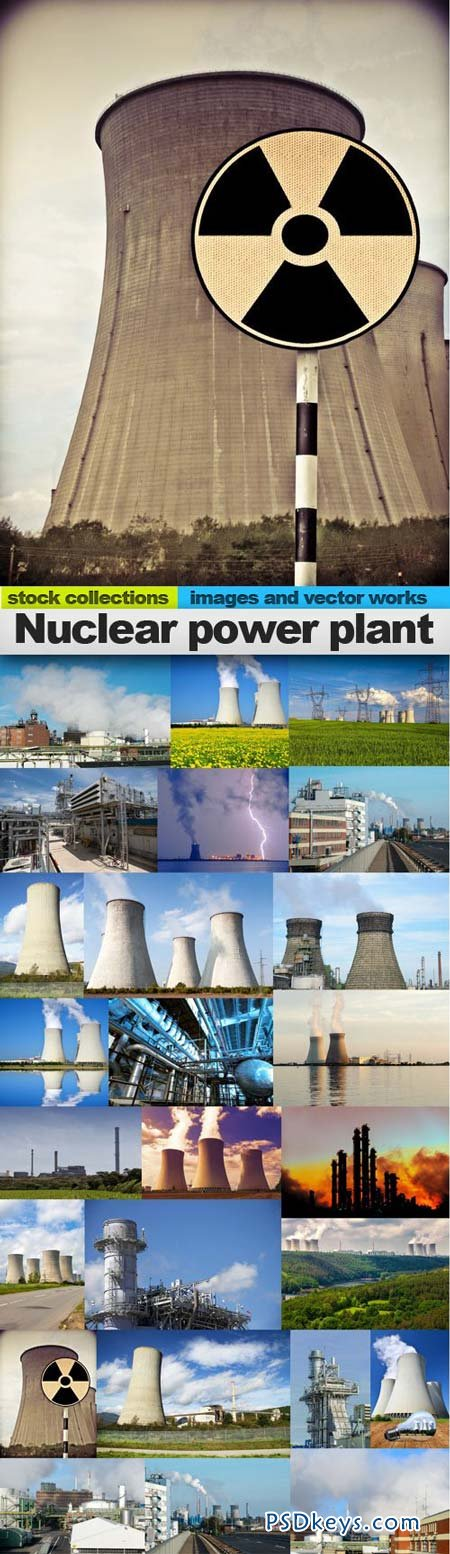 Nuclear power plant 25xUHQ JPEG