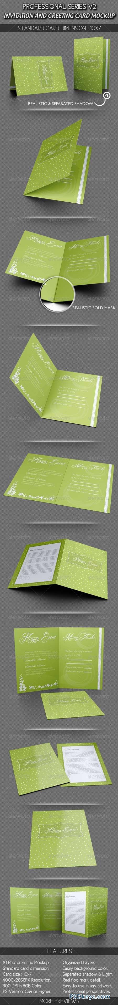 Invitation And Greeting Card Mockup V1 2821029 Free