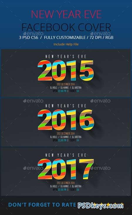 New Year Facebook Timeline 9221758