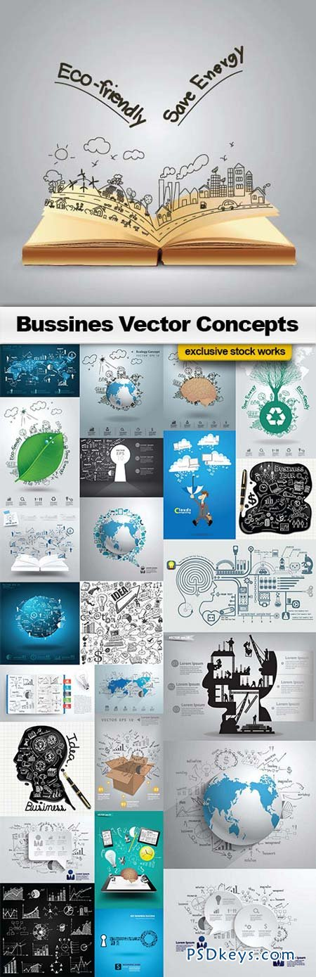 Business Vector Concepts - 25xEPS