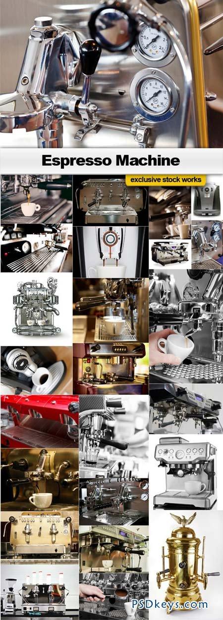Espresso Machine - 25xJPEGs