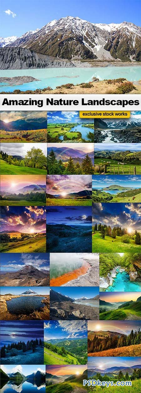 Amazing Nature Landscapes - 25xJPEGs