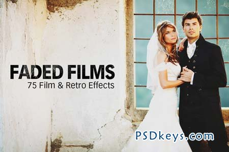 Faded Films - 75 Film & Retro Effect 4681