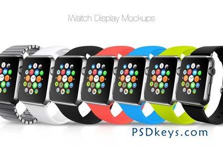 iWatch Display Mockups 101519