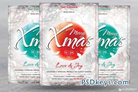 Christmas Eve Flyer Template V2 103575