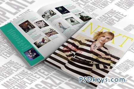 InDesign Magazine Template 26224