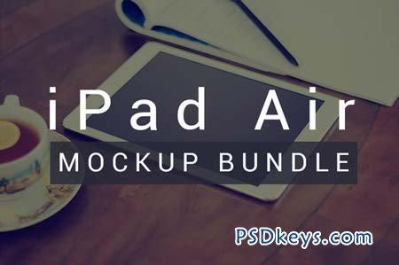 iPad Air - Photo Mockup Bundle 102482