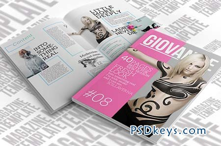 InDesign Magazine Template 27876