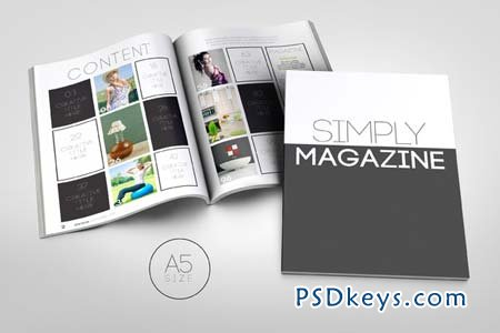 3x A5 Magazine Bundle 38234