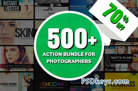 [70% OFF] 500+ Action Bundle 98429