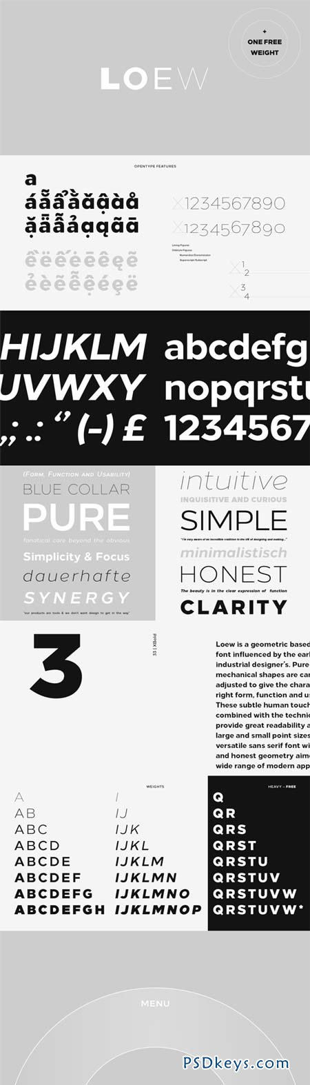 Loew Font Family - 16 Fonts for $265