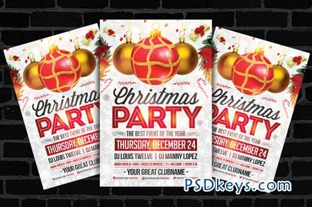 Free Christmas Party Flyer Templates Images Template Design Ideas