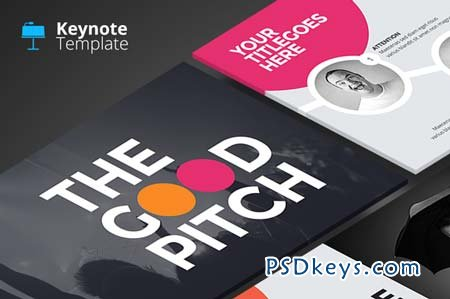 The Good Pitch - Keynote Template 95997 » Free Download Photoshop ...