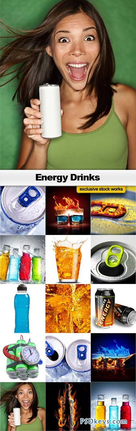 Energy Drinks - 15xJPEGs
