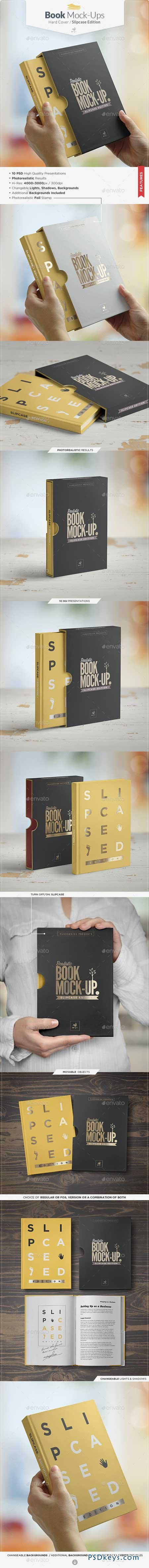 Book Mock-up Slipcase Edition 9332736
