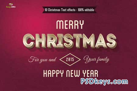 Christmas Text Effects 105460