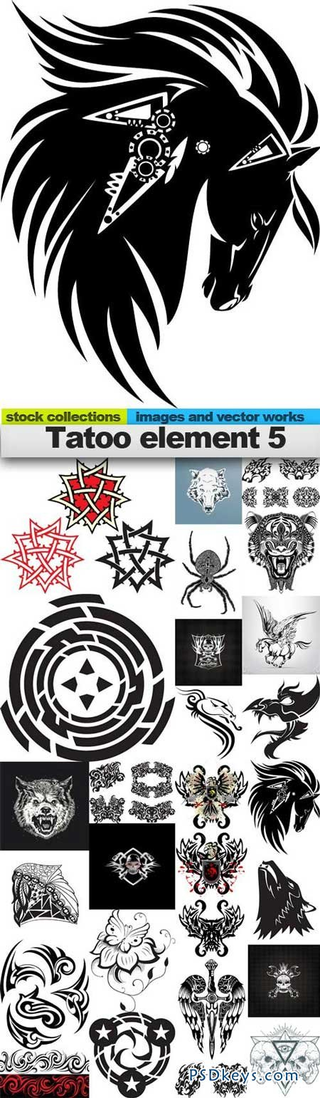 Tatoo element 5 25xEPS