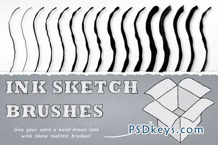 Ink Sketch Brushes 30834