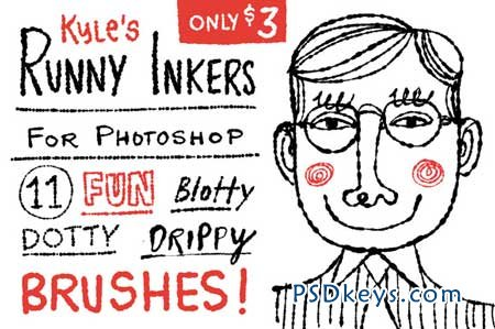 Kyle's Runny Inkers for Photoshop! 31492