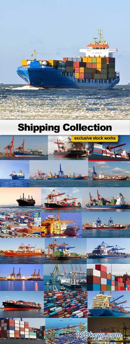Shipping Collection - 25xUHQ JPEG