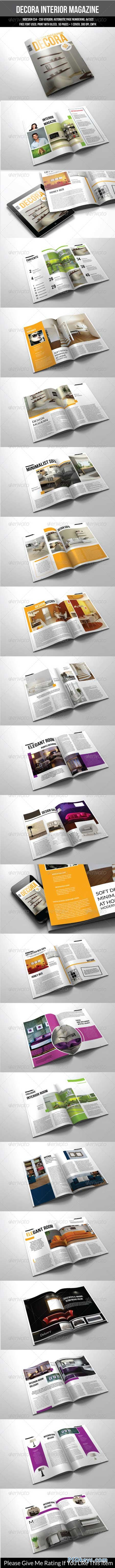 50 Pages A4 Indesign Magazine Template 7394852