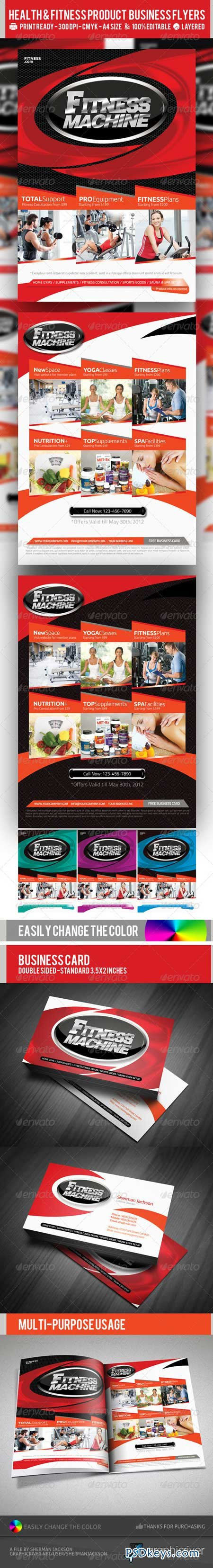 multipurpose fitness or product flyer psd template  multipurpose fitness or product flyer psd template 2347386