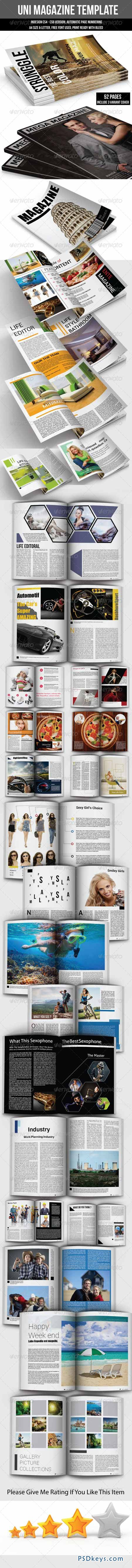 UNI Magazine Template 6653052