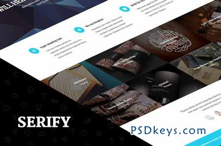 Serify - Multi­Purpose Theme 62576