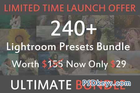 240+ Premium Lightroom Presets 110373