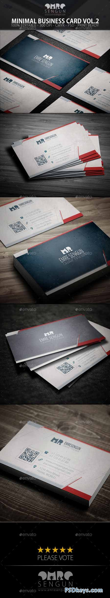 Minimal Business Card Vol.02 9527985