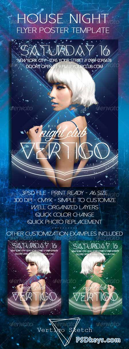 Night Club Poster Template 8570744