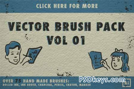 Vector Brush Pack Vol 01 104379